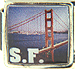 San Francisco Bridge With SF
