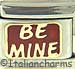 Be Mine on Red - Two Lines