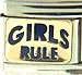 Blue Girl's Rule Text