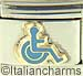 Blue Handicap Wheelchair Symbol