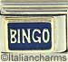 FINAL SALE Bingo on Blue