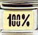 100% in Black