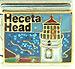 Heceta Head with Lighthouse on Sparkle Blue