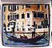 Gondola with Venice Scene