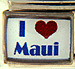 Blue I love Maui